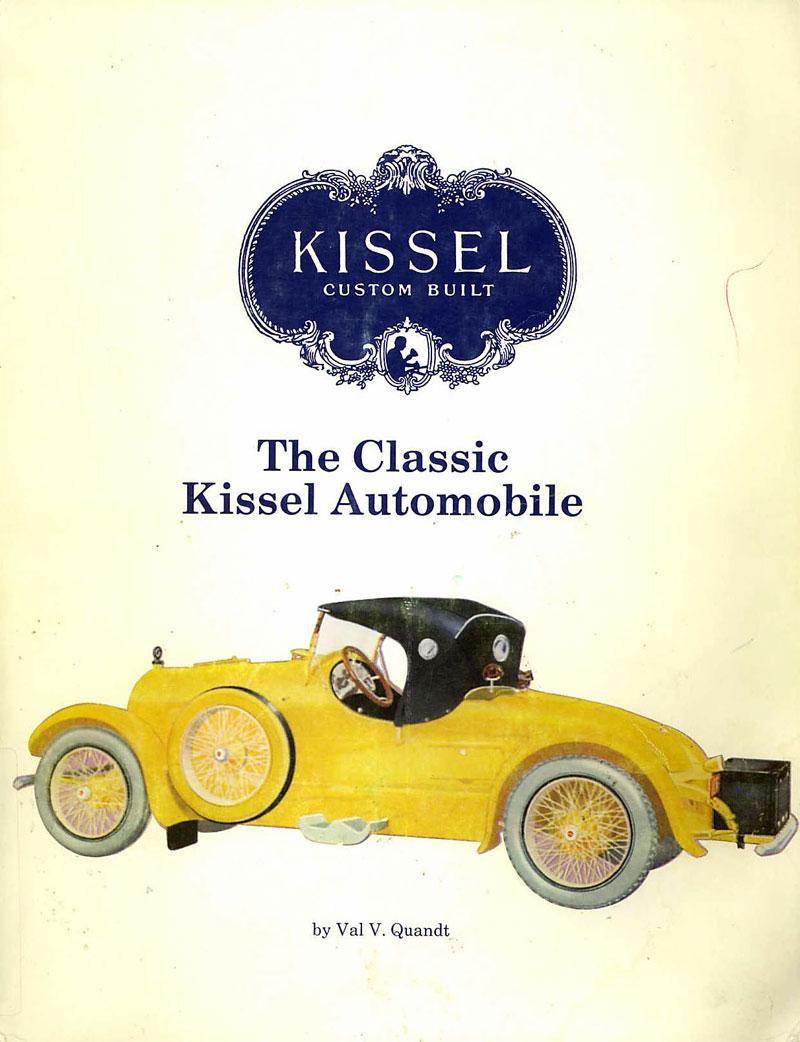The Classic Kissel Automobile,